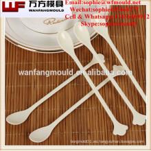 Molde de la cuchara de café plástico de la inyección de la Multi-cavidad / diseño y fabricante de molde de la cuchara de café