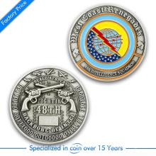 Hochwertig Kundenspezifische Druckguss 3D Beide Seiten Herausforderung Münze aus China
