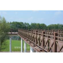 Landscape Building Municipal Wood Fencing Low Maintenance WPC Railing