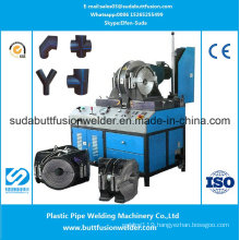 90mm/315mm Workshop Fittings Welding Machine for HDPE Pipe