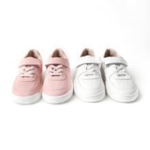 Детская повседневная обувь из натуральной кожи для мальчиков и девочек