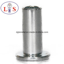 Approvisionnement de haute qualité demi-rivets creux, rivets solides
