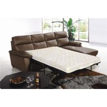 Canapé salon avec canapé moderne en cuir véritable (777)
