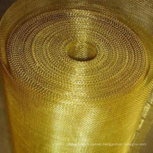 Copper Square Wire Mesh / Brass Woven Wire Mesh