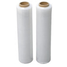 Hot Selling Customized Moistureproof Transparent Hand LLDPE Stretch Film  Roll for Packaging