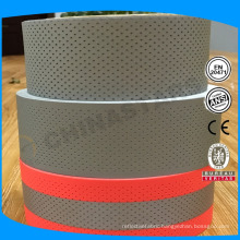 new coming breathable perforated reflective tapes for outdoor wearing