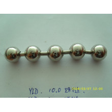china chain supplier custom shiny color metal ball chain for curtain