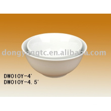 Ceramic footed bowls