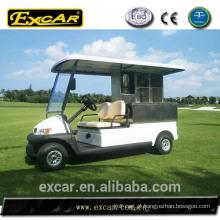 Carrinho de golfe elétrico do cantil do carrinho de golfe de 2 seater para o hotel