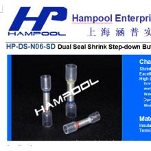 Nylon-Schrumpfschlauch-Verbindungsstück (Step-Down) Schlauchhülsenanschluss-Stoßverbinder