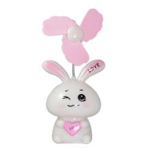 Симпатичный дизайн кролика USB вентилятор мини-вентилятор