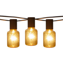 E17 Edison Light String Weatherproof T40