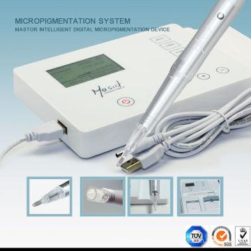 Профессиональная ротационная электрическая перманентная макияжная машина Nano Micro Needle Tattoo Machine для бровей
