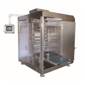 DXD-1080 Full servo Multi-line four-side sealing powder packing machine