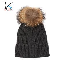 2017 diseño personalizado de alta calidad para hombre sombrero de piel de invierno