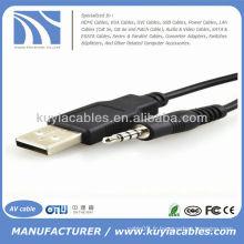 Adaptateur usb à 3,5 mm stéréo pour MP3 Mp4