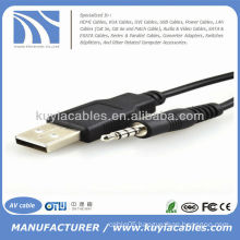 usb to 3.5mm stereo cable Adapter for MP3 Mp4