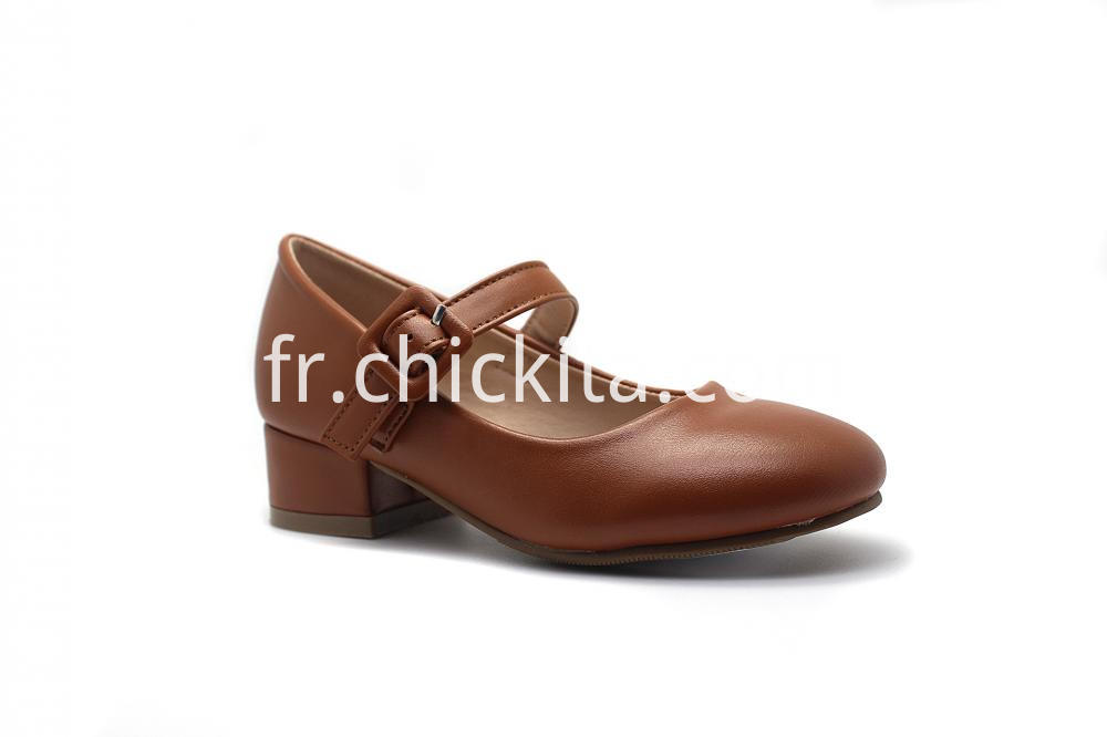 High Heel With Square Buckle Princess Shoe