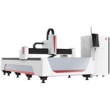 Auto Rotary Pipe Tube Laser Cutting Machine Fiber 3Kw Cypcut 8Mm Brass Fiber Laser Cutter