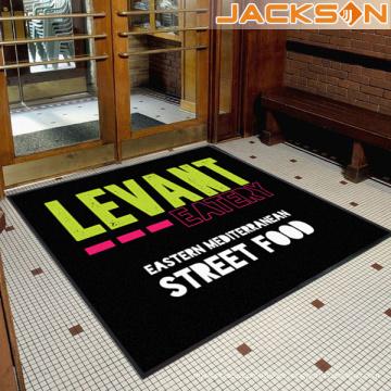 Nueva marca de fábrica de la marca de fábrica impresa Nylon de la alfombra del piso del logotipo