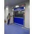 Porta automática da velocidade do obturador do rolo do PVC do radar