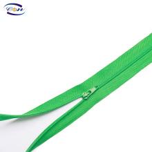 Wholesale closed-end 3# nylon zipper for polo