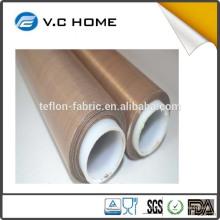 PTFE virginal puro del 100%, PTFE Material hoja del teflon de la alta temperatura de la tela del ptfe