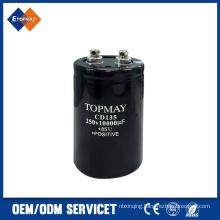 250V 10000UF Screw Terminal Aluminum Electronic Capacitor (TMCE21)