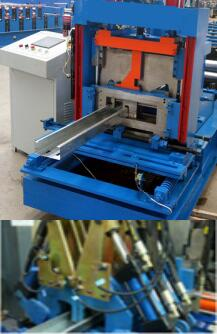 hydraulic punch and cutting