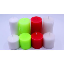 wholesale different size pillar candle for a gift candle