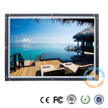 """OEM/ODM wide screen 19"""" open frame LCD monitor with high brightness"""