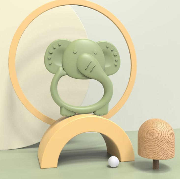 Silicone Elephant Teether