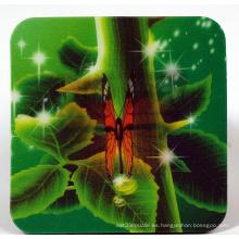 Butterfly Flip Effect 3D Cup Coaster Mat