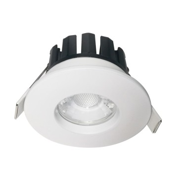 Smart Home Control Dimmable Tersembunyi 7W Cob LED Downlight