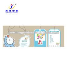 Personnaliser disponible! En Gros Étiquettes En Carton Vêtements Hang Étiquette De Papier Étiquette
