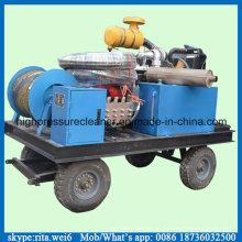 Equipamento de alta pressão diesel da limpeza do dreno do esgoto da arruela do dreno