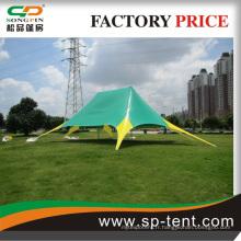 Tente d'exposition en PVC à cadre en aluminium avec porte roulante à vendre