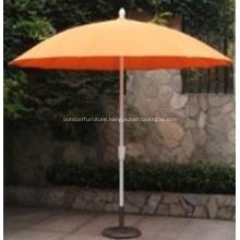 Aluminum Straight Pole Glassfibre Rib Umbrella