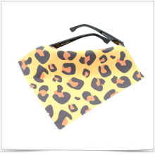 Digital Transfer Printing Microfiber Glasses Cleaning Cloth with Jagged Edge
