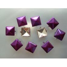Caliente vendiendo varios vástago de papel de metal de diseño brad