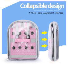 Transparent Breathable Design Pet dog cat backpack
