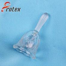 Benutzerdefinierte Geschenk Kristallglas Glocke zum Weihnachtstag