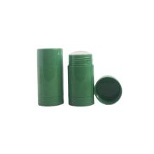 Empty plastic cosmetic 75ml deodorant stick container