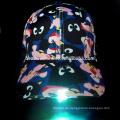 2016 Heiße verkaufende LED-Baseballmütze mit LED-Licht auf dem Visier