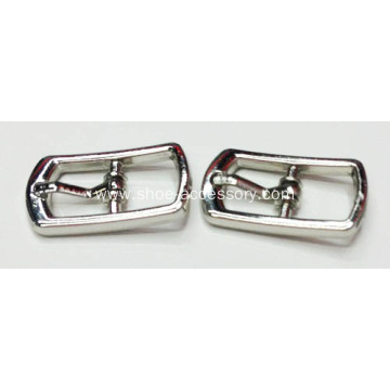 Metal Pin Buckle in 9mm for Shoes
