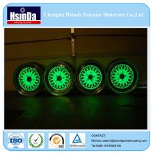 Автоматическое свечение в темном порошковое покрытие для ступицы колеса