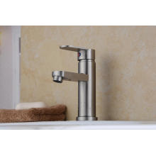 Single Handle 304 Stainless Steel Basin Faucet (HS15002)