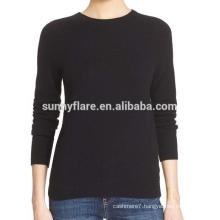 High Quality Roll Neck Women 100% Cashmere Sweater