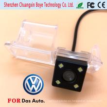 Mini cámara de coche con 4 luces LED aptos para Volkswagen 2011 Golf Polo Magotan Passat Cc