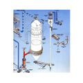 Secador por aspersión de alta presión